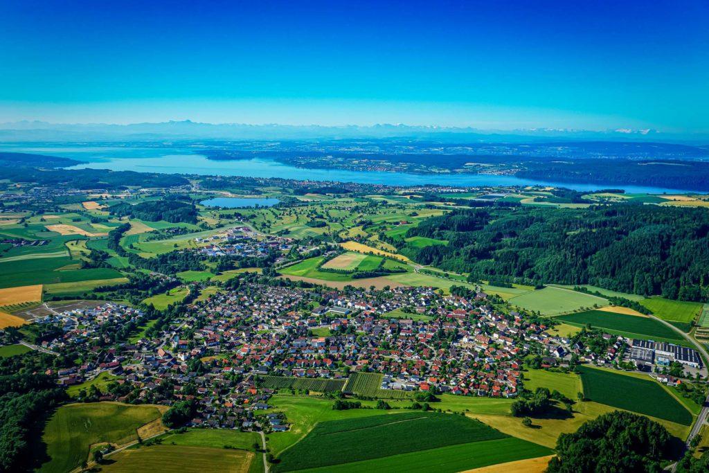 Luftbild Owingen